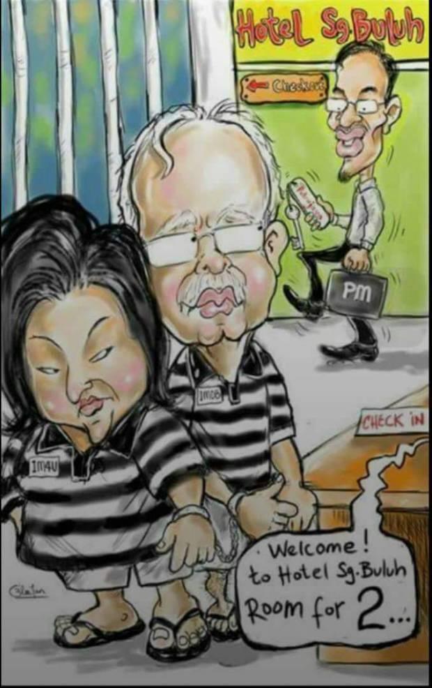 Najib jail