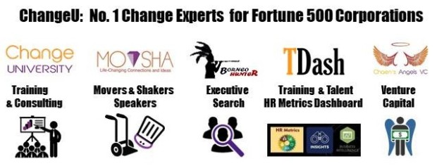 # 5 Brands - CU, MoV, BH, TDash & VC - No.1 Change Experts