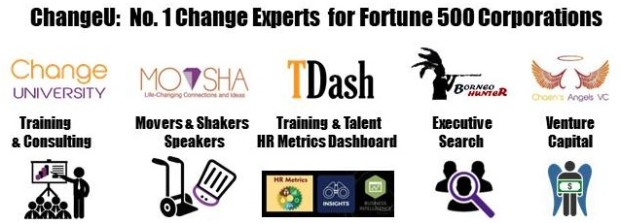 # 5 Brands - CU, MoV, BH, TDash & VC - No.1 Change Experts