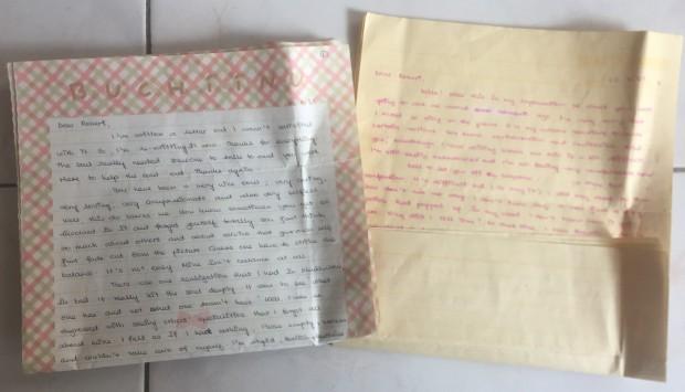 Karen's love letters.JPG