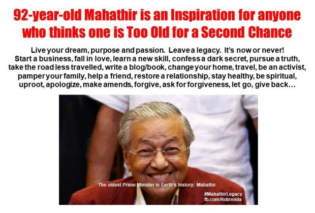 Mahathir is an Inspiration