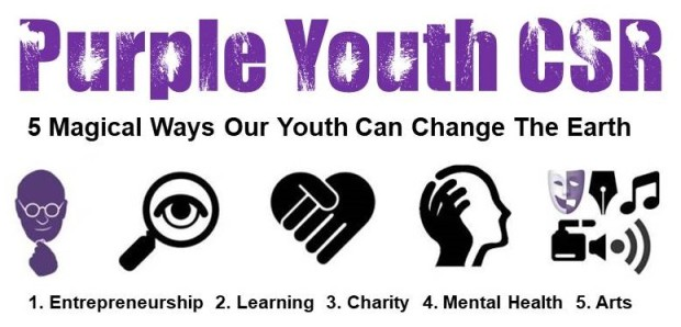 Purple Youth CSR - 5 Ways Our Youths Can Change the Earth