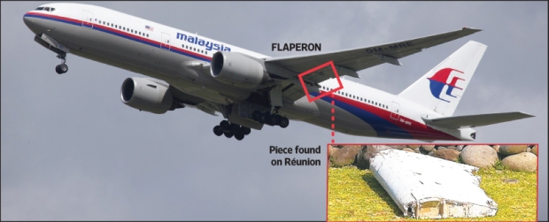 MH370 LEFT Flaperon with MH.jpg