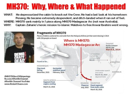 MH370 - Why, Where & What Happened