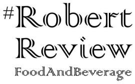 #RobertReviewFoodAndBeverage