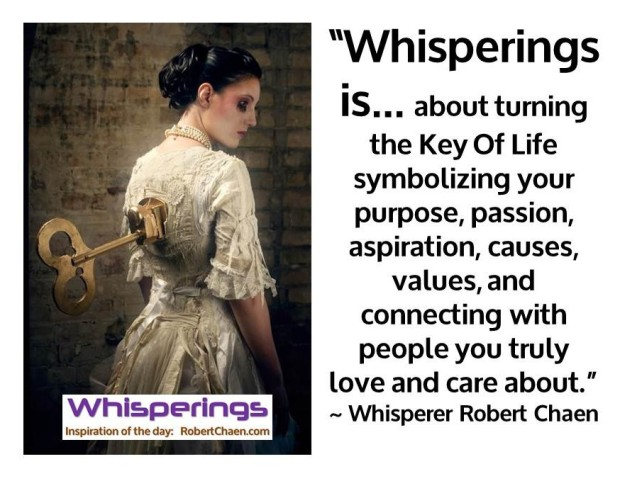 Whisperings is... about Turning the Key Of Life.jpg