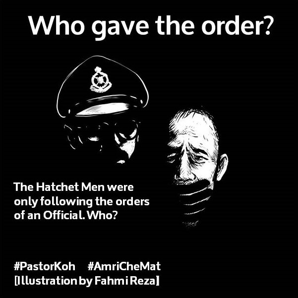 Who gave the order - Pastor Koh