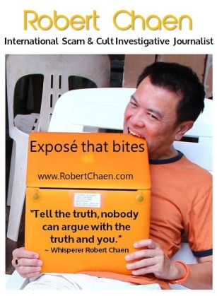 Robert Scam & Cult Investigative Journalist