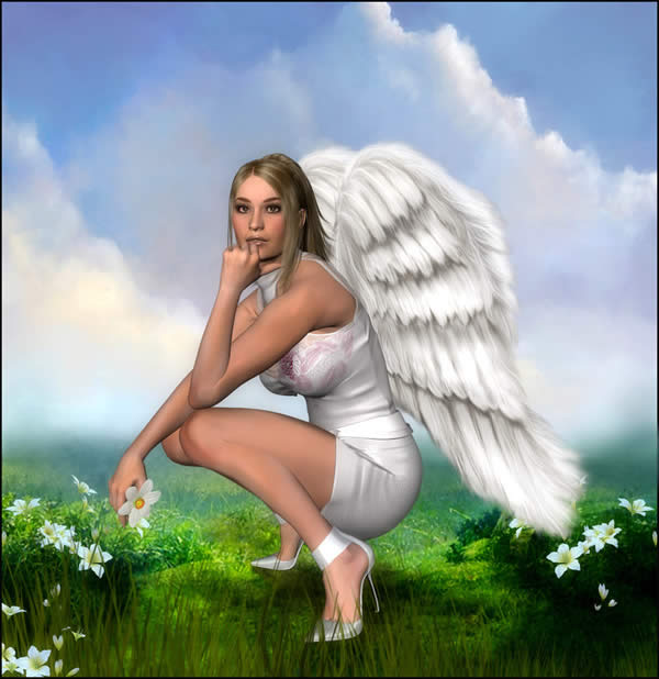 Beautiful Angel in heels - CaperGirl42.jpg