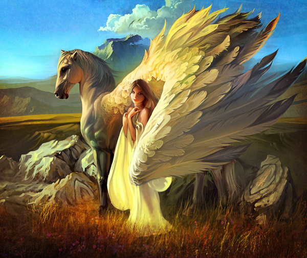Girle and Pegasus - 29-Angel-art_by_rhads.jpg