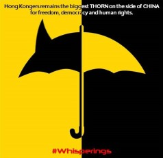 HK the biggest THORN on the side of China