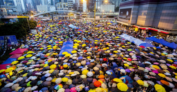3. HK Umbrella Movement