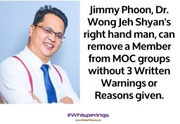 Jimmy Phoon can remove a Member