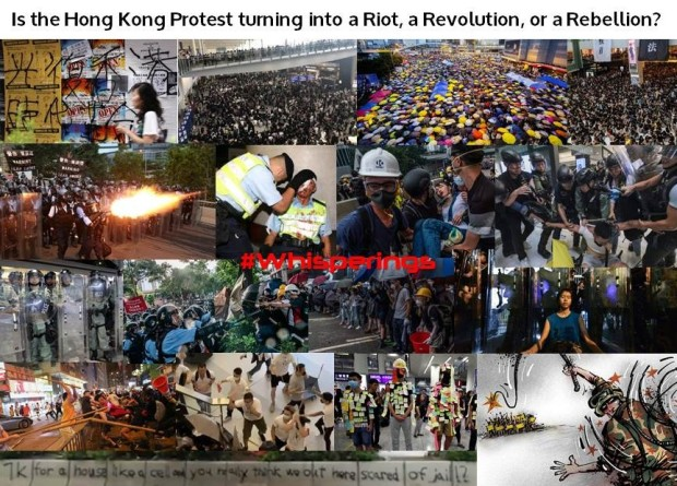 Riot, Revolution or Rebellion