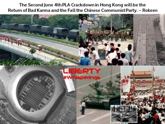 The Second June 4th PLA Crackdown in Hong Kong