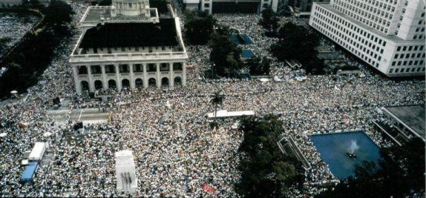 June 4 1989 Protest in HK