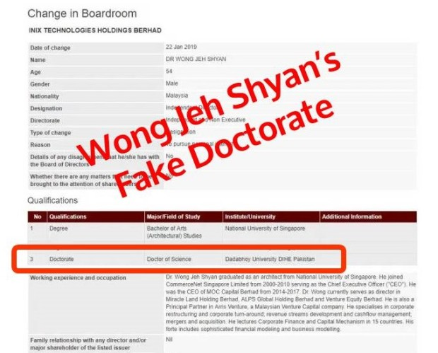 Wong Jeh Shyan's Fake Doctorate.jpg