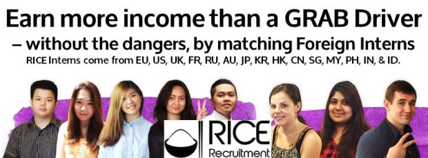 Earn more income than a GRAB Driver