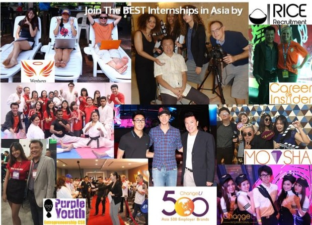 Join the Best Internships in Asia by RICE