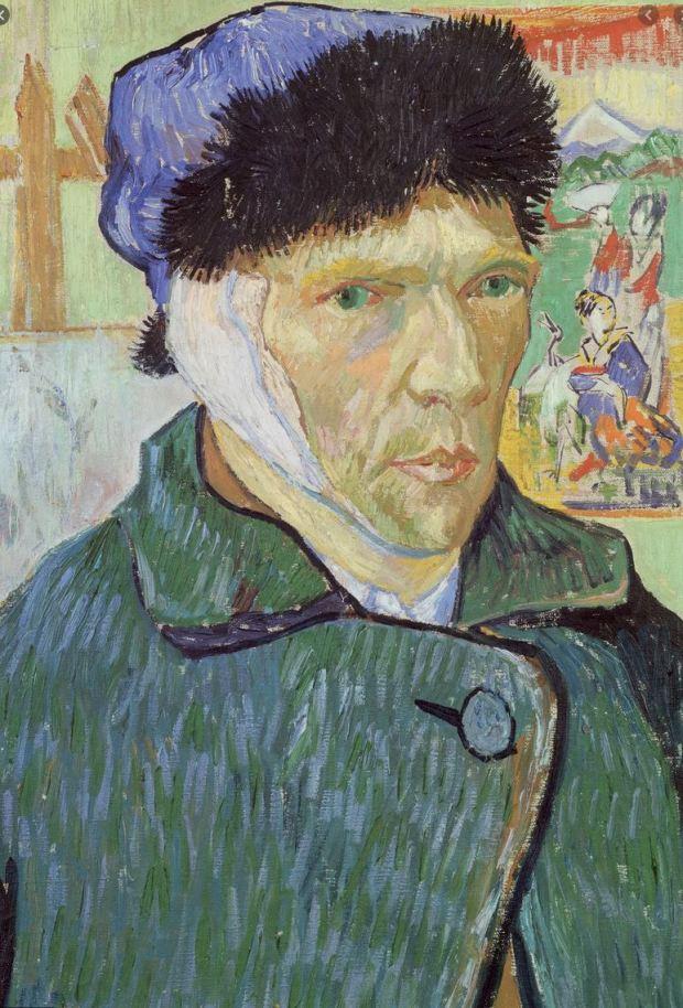Self-Portrait with Bandaged Ear (January 1889)