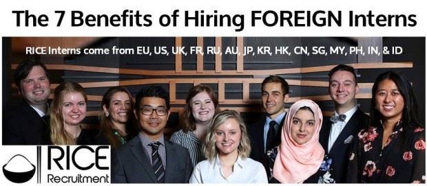 The 7 Benefits of Hiring Foreign Interns