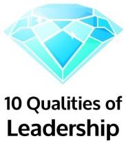 10 Qualities of Leadership Diamond Logo