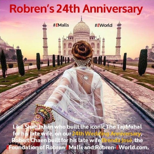 Robren's 24th Anniversary