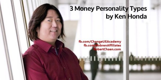 Ken Honda - 3 Money Personality Types