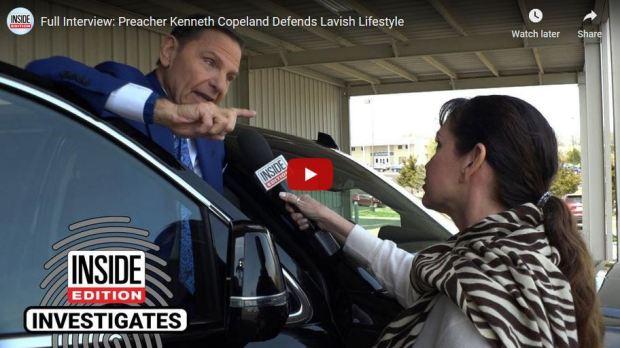 Kenneth Copland defends his lavish lifestyle