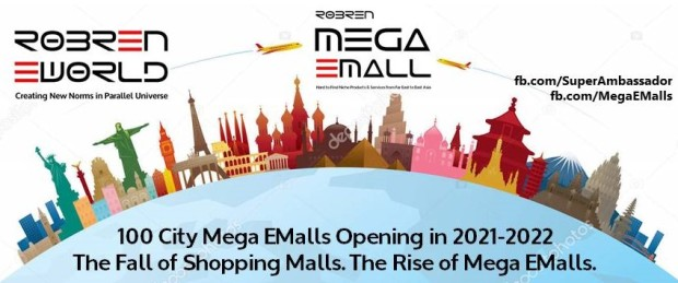 100 City Mega EMalls Opening + Robren EWorld