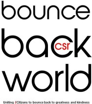 bounce back world csr Logo & Slogan
