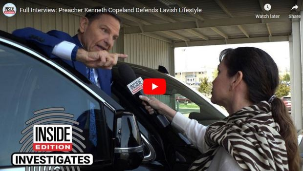 Kenneth Copeland- defends private jets