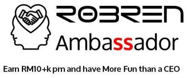 Robren Ambassador Logo & Slogan