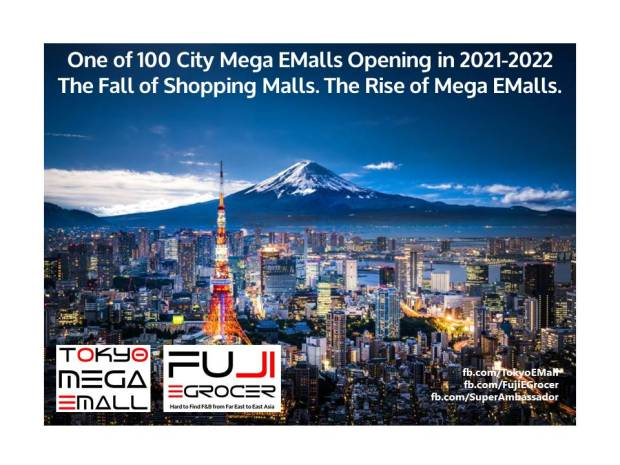 Tokyo - 100 City Mega EMall Series Banner